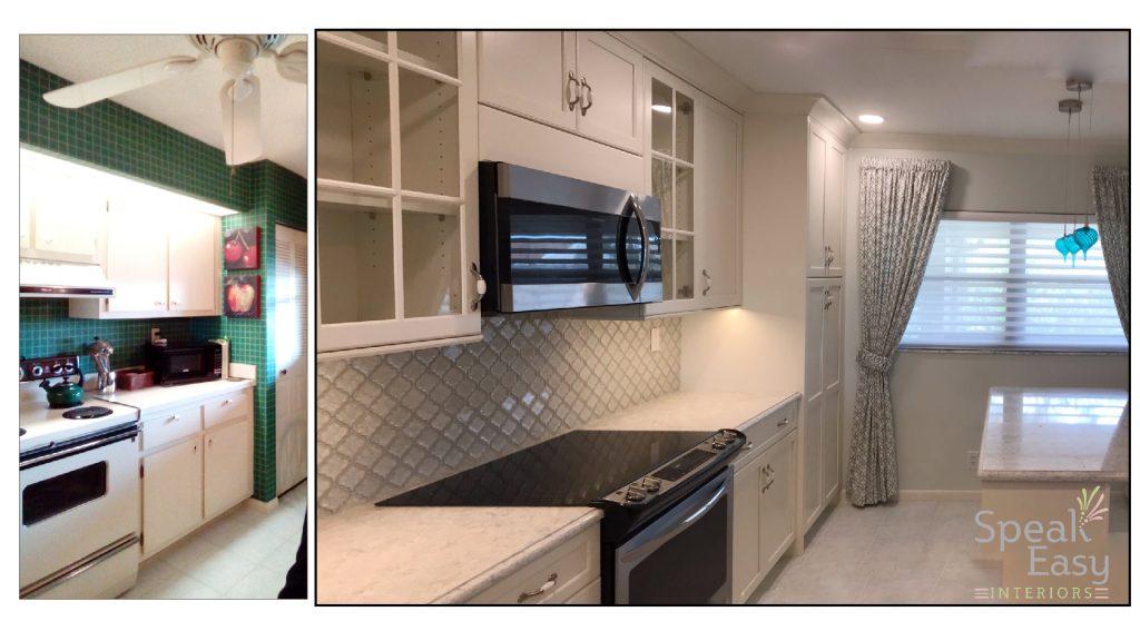 Woodharbor Palm Beach Gardens Florida Kitchen Renovation Remodel Condo Eastepointe Speak Easy Interiors