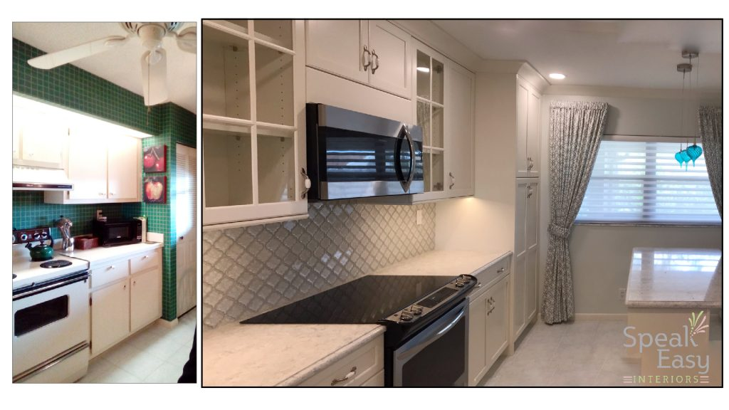 Woodharbor Palm Beach Gardens Florida Kitchen Renovation Remodel Condo Eastepointe Speak Easy Interiors